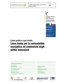 Linee Guida sostenibilità energetica ambientale – industria