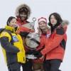 Polo Nord, mi trovate a 4,3 km li sotto in buona compagnia