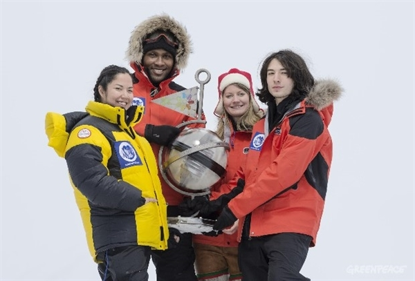 Polo Nord Sfera del tempo