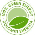 Logo 100% Energia Pulita Dolomiti Energia